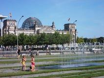 Berlijn in de zomer Stock Afbeelding