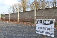 Berlijn, Duitsland - concentratiekamp Sachsenhausen Stock Afbeeldingen