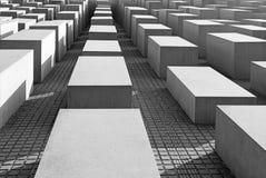 BERLIJN, DUITSLAND, FEBRUARI - 13, 2017: Het gedenkteken van Holocaust Stock Foto's