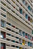 BERLIJN, DUITSLAND - JULI 2014: Corbusier Haus werd langs ontworpen Stock Foto