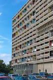 BERLIJN, DUITSLAND - JULI 2014: Corbusier Haus werd langs ontworpen royalty-vrije stock foto