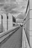 BERLIJN, DUITSLAND - JULI 2015: Het Bauhaus-Archief, Museum van Desi royalty-vrije stock afbeeldingen