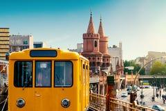 Berlijn, Duitsland, tijdens de zomer stock foto
