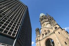 Berlijn Gedachtnis Kirche Stock Fotografie