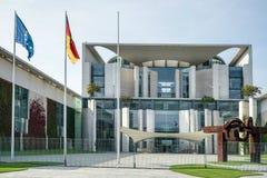 BERLIJN, GERMANY/EUROPE - 15 SEPTEMBER: De Federale Kanselarij Royalty-vrije Stock Foto