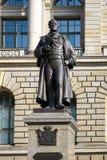 BERLIJN, GERMANY/EUROPE - 15 SEPTEMBER: Standbeeld van August Fuerst Stock Fotografie