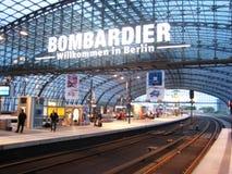 Berlijn Hauptbahnhof Royalty-vrije Stock Afbeelding