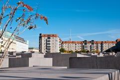 Berlijn, het monument van de Holocaust Royalty-vrije Stock Foto
