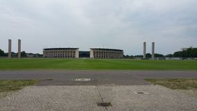 Berlijn maifeld Olympiastadion Berlijn Stock Foto
