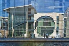 Berlijn marie-Elisabeth-Luders-Haus Stock Afbeeldingen