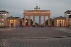 Berlijn - MEI 11, 2015: De Poort van Brandenburg op 4 Augustus in Duitsland, Berlijn Royalty-vrije Stock Afbeeldingen