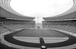 Berlijn ` s Olympia Stadium Stock Foto's