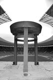 Berlijn ` s Olympia Stadium Royalty-vrije Stock Foto's
