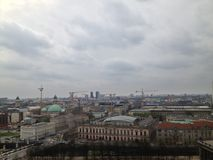 Berlijn van de daken Stock Foto