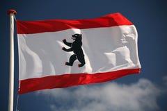 Berlijn-vlag Royalty-vrije Stock Afbeeldingen