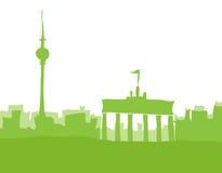 Berlim, abstrakt da skyline Foto de Stock
