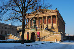 Berlim, Alemanha. Alte Nationalgalerie Imagem de Stock