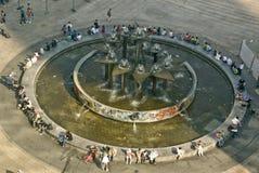 Berlim Alexanderplatz Fotos de Stock