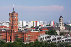 Berlim da baixa Fotografia de Stock Royalty Free