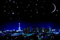 Noite de Berlim Foto de Stock