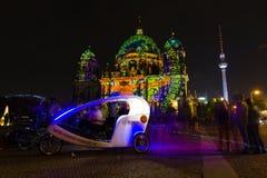 berlim Festival de luzes 2014 Imagem de Stock Royalty Free