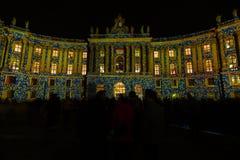 berlim Festival de luzes 2014 Imagens de Stock Royalty Free