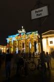 berlim Festival de luzes 2014 Fotografia de Stock