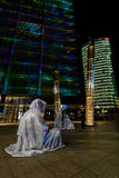 berlim Festival de luzes 2014 Foto de Stock Royalty Free