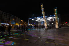 berlim Festival de luzes 2014 Fotografia de Stock Royalty Free