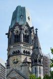 BERLIM, GERMANY/EUROPE - 15 DE SETEMBRO: Imperador Wilhelm Memorial imagem de stock royalty free