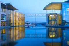 Berlim: Marie-Elisabeth-Luders-Haus imagem de stock royalty free