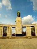 berlim Monumento aos soldados soviéticos fotografia de stock