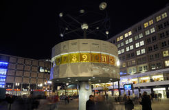 Berlim na noite Fotografia de Stock Royalty Free