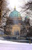 Berlim no inverno Foto de Stock Royalty Free