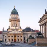 Berlim, os DOM de Deutscher Imagens de Stock