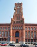 Berlim Rathaus fotos de stock royalty free