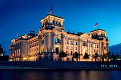 Berlim Reichstag fotografia de stock royalty free