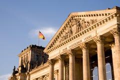 Berlim Reichstag Foto de Stock Royalty Free