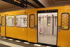 Berlim subterrânea Fotos de Stock Royalty Free