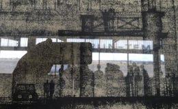 Berlim Tempelhof Foto de Stock Royalty Free