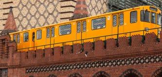 Berlim U-bahn Imagens de Stock