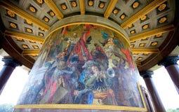 Berlim Victory Collumn Mosaic Fotografía de archivo