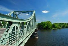 Berlim Wannsee, ponte de Glienicker Fotos de Stock Royalty Free