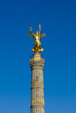 Berlin´s golden Siegessaeule Royalty Free Stock Photos
