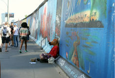Berlinés Mauer Foto de archivo libre de regalías