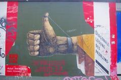 Berlinés Mauer, Berlín, Alemania Fotos de archivo libres de regalías