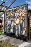 Berlinés Mauer, Berlín, Alemania Imagen de archivo libre de regalías