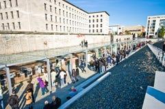 Berlin Ścienny Niemiecki kapitał zdjęcia stock