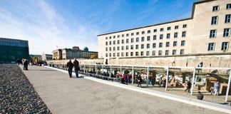 Berlin Ścienny Niemiecki kapitał obrazy stock