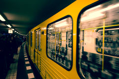 berlin подземный Стоковое Фото